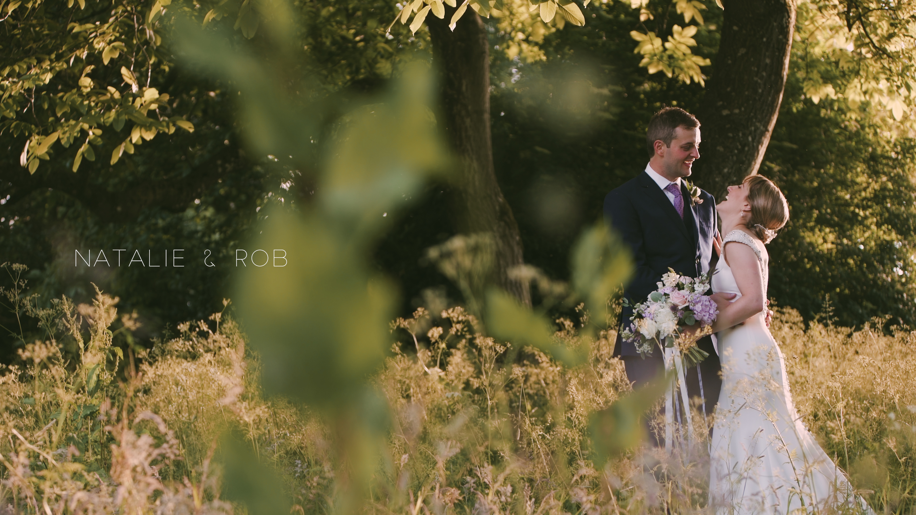 wedding video askham hall couple
