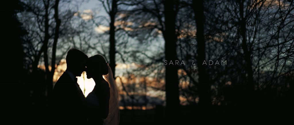 MIddleton lodge wedding portraits couple Silhouette